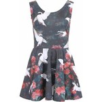 Barevné šaty s labutěmi Mr. Gugu & Miss Go Swans