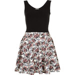Topshop **Sleeveless Floral Skater Dress by Annie Greenabelle