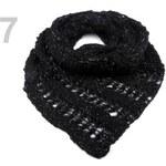 Stoklasa stok_710137 Nákrčník s lurexem (1 ks) - 7 černá