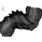 Stoklasa Šála 55x150cm mačkaná duhovaná (1 ks) - 4 Pirate Black
