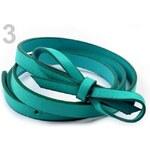 Stoklasa Dámský pásek 1,5x110cm úzký s mašličkou (1 ks) - 3 Lagoon