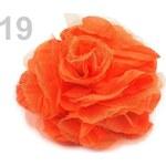 Stoklasa stok_100965 Brož Ø 90mm růže (1 ks) - 19 oranžová mrkvová