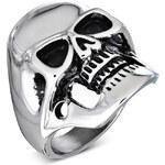 DAMSON Pánský prsten Lebka
