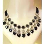 DAMSON Srdíčkový dámský náhrdelník