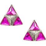 Designsix Drury Triangle Stud Earrings