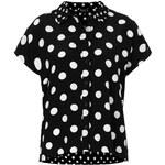 Topshop Mix Scale Spot Shirt