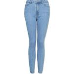Tally Weijl Blue Very High Waist Skinny Jeans