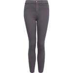 Tally Weijl Grey High Waist Skinny Pants