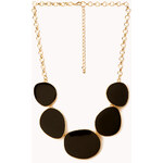 Forever 21 Subtle Glam Lacquered Necklace
