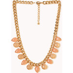 Forever 21 Natural Stone Statement Necklace