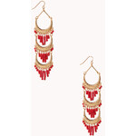 Forever 21 Goddess Chandelier Earrings