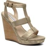 Steve Madden - IRIS - Sandalen für Damen / gold/bronze