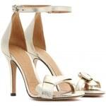 Isabel Marant Play Metallic Leather Sandals