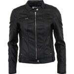 Černá koženková bunda Vero Moda Dawn
