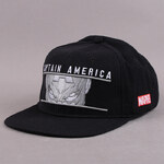 Addict Marvel Captain America Watcher Cap černá