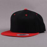Yupoong Classic Snapback 2-Tone černá / červená / zelená