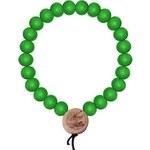 MD Wood Fellas Deluxe Pearl Bracelet 9 neon zelený