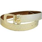 Zlatý pásek Michael Kors s logem