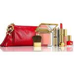 Estee Lauder kosmetický set designed by Michael Kors červený