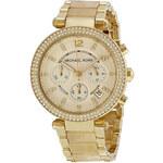 Zlaté luxusní hodinky Michael Kors MK5632