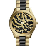 Zlato-černé hodinky Michael Kors MK3315