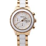 DKNY Donna Karan Zlato-bílé hodinky DKNY NY8830