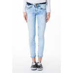 Tally Weijl Blue Light-Wash Skinny Jeans