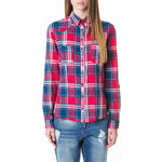 Tally Weijl Red & Blue Checked Shirt