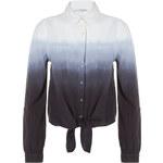 Tally Weijl Black & White Gradient Shirt
