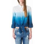 Tally Weijl Blue & White Gradient Shirt