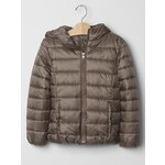 Gap Primaloft Lightweight Puffer Jacket - Trigger brown
