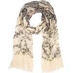 Marks and Spencer M&S Collection Lightweight Modal Blend Oriental Floral Lace Scarf
