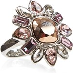 Marks and Spencer M&S Collection Floral Ring MADE WITH SWAROVSKI® ELEMENTS