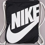 Nike Heritage Gymsack černý / bílý