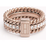 Tommy Hilfiger Rope And Stone Ring
