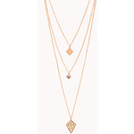 Forever 21 Iconic Layered Necklace