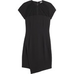 Just Cavalli Stretch Dress with Sheer Top