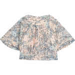Zimmermann Cropped Cotton Top