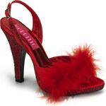 Bordello Siren-04 dámská obuv Pleaser na platformě a podpatku 35 (US 5)