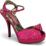 Bordello Preen-16 dámská obuv Pleaser na platformě a podpatku 35 (US 5)