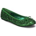 Star 16G zelené balerínky Pleaser 35 (US 5)
