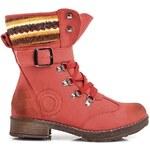 BALADA Luxusní červené workery - B633R