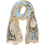 Marks and Spencer Limited Edition Modal Blend Lightweight Faux Snakeskin Geometric Print Scarf