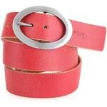 Červený kožený pásek Wild Skin