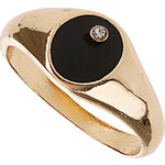 Topshop Plain Band Enamel Ring