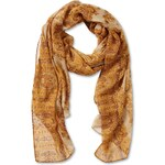 s.Oliver Scarf with an ornamental print