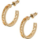 ASOS Heart Cut Out Mini Hoop Earrings