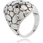 LYRA Prsten stříbrno-černý R07823R-V01