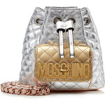 Moschino Quilted Leather Mini Backpack