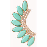 Forever 21 Luxe Bejeweled Earcuff